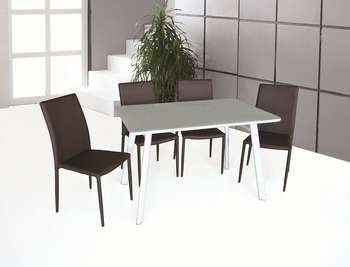J&M B24 Dining Table & DC 13 4 Chairs