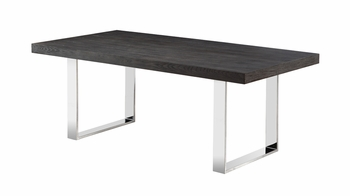 J&M Block Table in Grey Elm