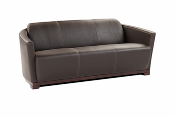 J&M Hotel Italian Leather Sofa