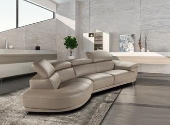 J&M Marisol Premium Leather Sectional