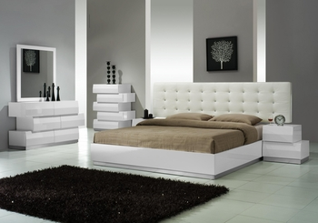 J&M Milan Queen Bed