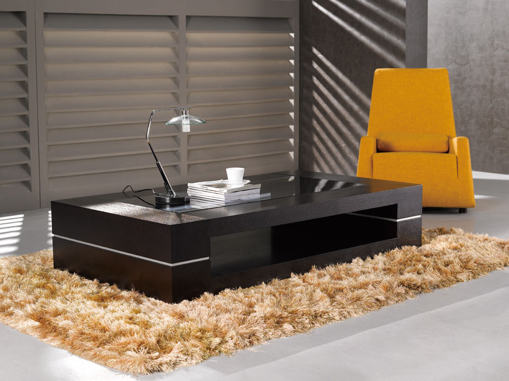 Ju0026M Modern Coffee Table 682 & Modern Ju0026M made in Italy high quality large 682 coffee table living ...