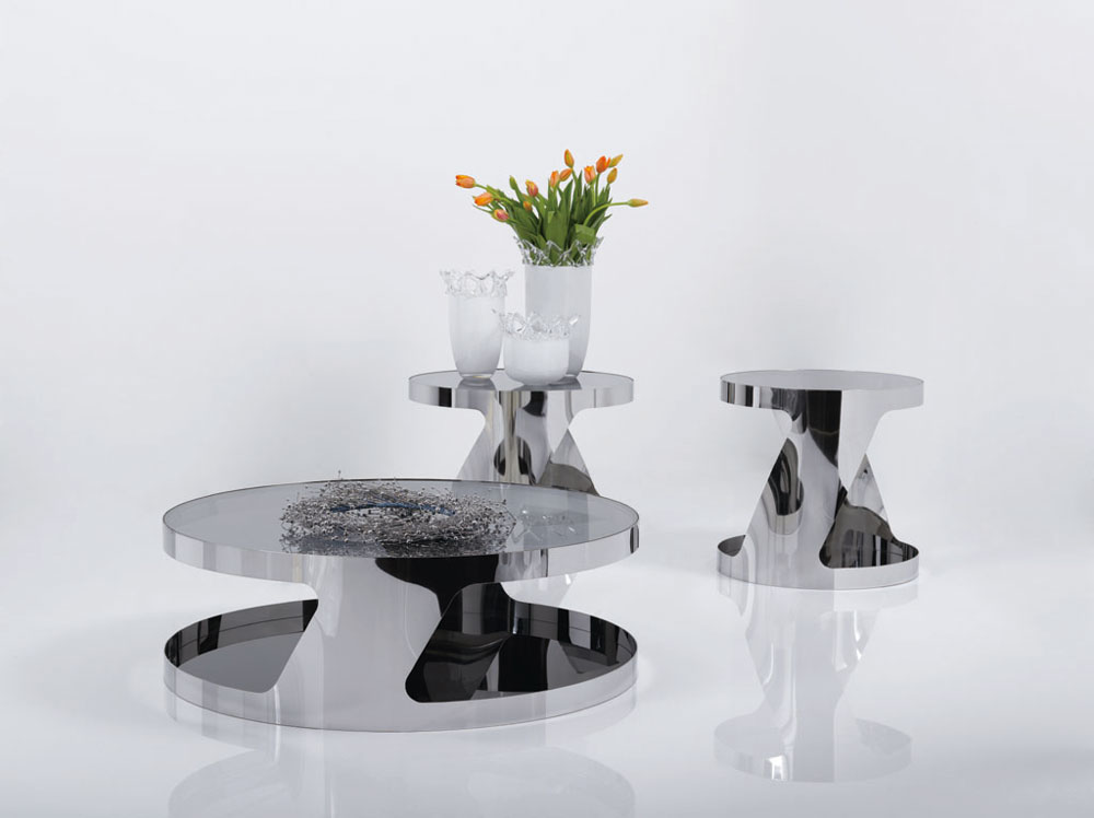 Modern Furniture Table modern j&m made in italy high quality large 931 coffee table