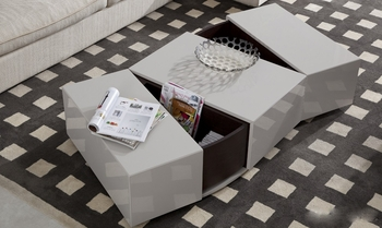 J&M P592A Modern Coffee Table