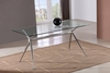 J&M T058 Glass Dining Table