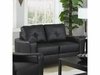 Jasmine Leather Loveseat