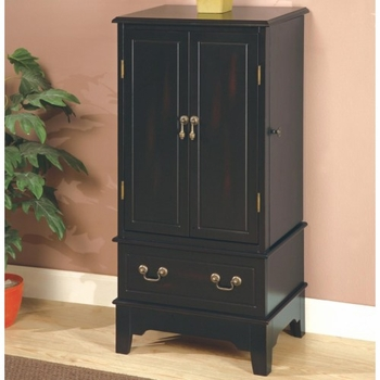 Jewelry Armoires Black Jewelry Armoire