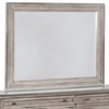 Johnathan Framed Mirror with Chrome Accent
