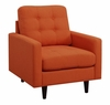 Kesson Upholstered Chair with Mid-Century Modern Design