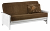 "Loveseat Full bed Key West full Lounger 54"" Size Moonglider Futon Frame"