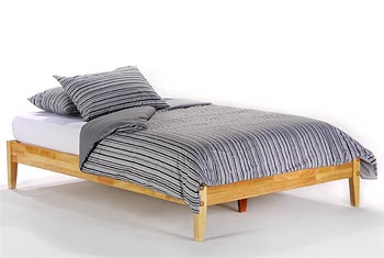 King Japone' Platform Bed Open Foottail - P Series/Short