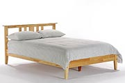 King Open End Platform Bed
