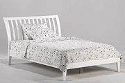 King Sleigh-H Platform bed