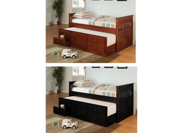 twin daybed with trundle and storage virginia furniture. Black Bedroom Furniture Sets. Home Design Ideas