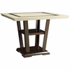 Lacombe Counter Height Table with Pedestal