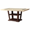 Lacombe Rectangular Dining Table with Pedestal