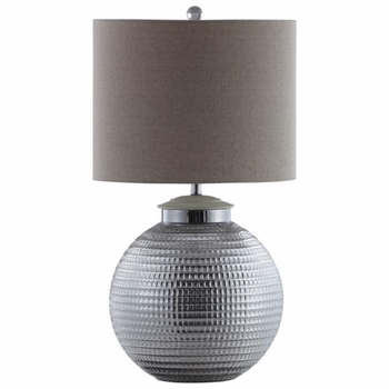 Lamps Table Lamp with Round Metal Base