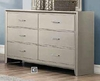 Lana Dresser with Six Dovetail Drawers