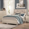 Lana King Bed with Upholstered Headboard