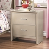 Lana Night Stand with Two Dovetail Drawers