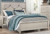 Lana Queen Bed with Upholstered Headboard