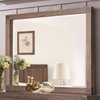 Lancashire Rectangular Mirror with Exposed Finger Joint Detailing