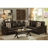 Larkny Sleeper Sectional with Nailhead Trim