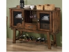 Lawson Dining Server with Wine Rack