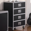 LeClair 4 Drawer Chest with Casters Youth Collection