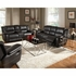 Lee Transitional Motion Sofa with Pillow Arms 601061