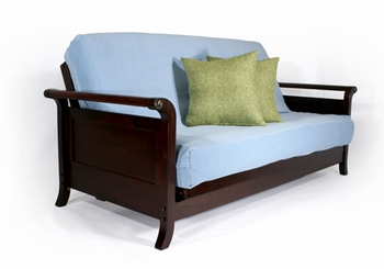 Lexington Full size Futon Frame Wall Hugger made in USA DC furniture
