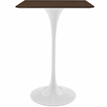 "LIPPA 28"" WALNUT BAR TABLE IN WALNUT"