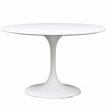 "LIPPA 40"" FIBERGLASS DINING TABLE"