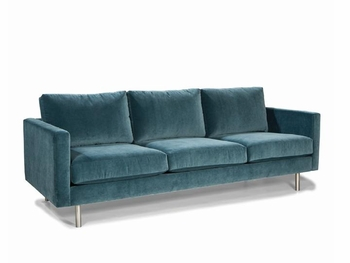 Living Room Couch with Stainless steel legs #76530