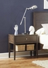 Lompoc 1 Drawer Nightstand with USB Charging Cables