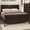 Louis Philippe 202 Full Panel Sleigh Bed