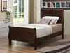 Louis Philippe 202 Twin Panel Sleigh Bed