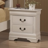 Louis Philippe 204 2 Drawer Night Stand