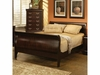 Louis Philippe King size Traditional Sleigh Bed