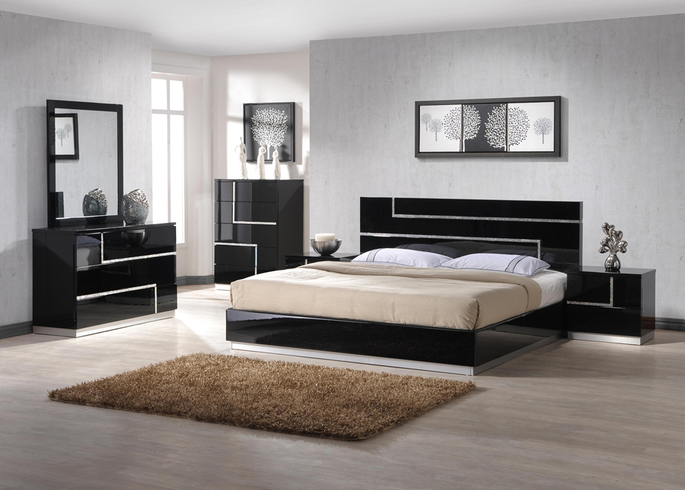 bedrooms furniture stores. Plain Bedrooms Ju0026M Lucca Queen Bed On Bedrooms Furniture Stores