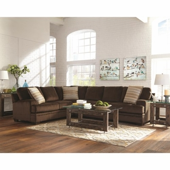 Made In USA Robion Plush Corner Sectional