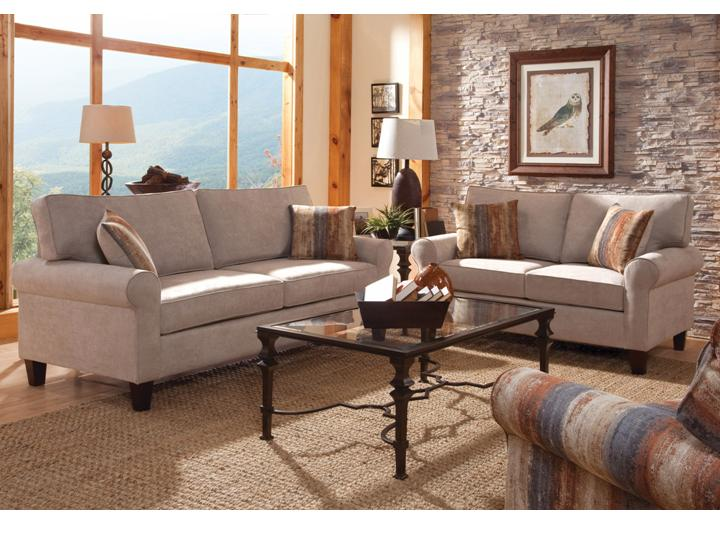 Modern Made in USA living room sofa 5 year warranty on sale VA ...