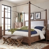 Madeleine King Canopy Bed by Donny Osmond Home