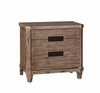 Madeleine Nightstand with USB Charging Ports by Donny Osmond Home