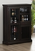 Marbrisa Curio Mission Style Bar Cabinet Furniture