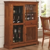 Marbrisa Mission Style Bar Cabinet