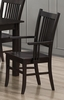 Marbrisa Slat Back Mission Arm Chair Dining Room