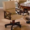 Marietta Upholstered Arm Game Chair