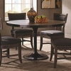 Mayberry Rustic Dining Table with Nailhead Banding