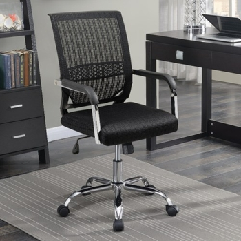 Mesh Back Black Office Chair